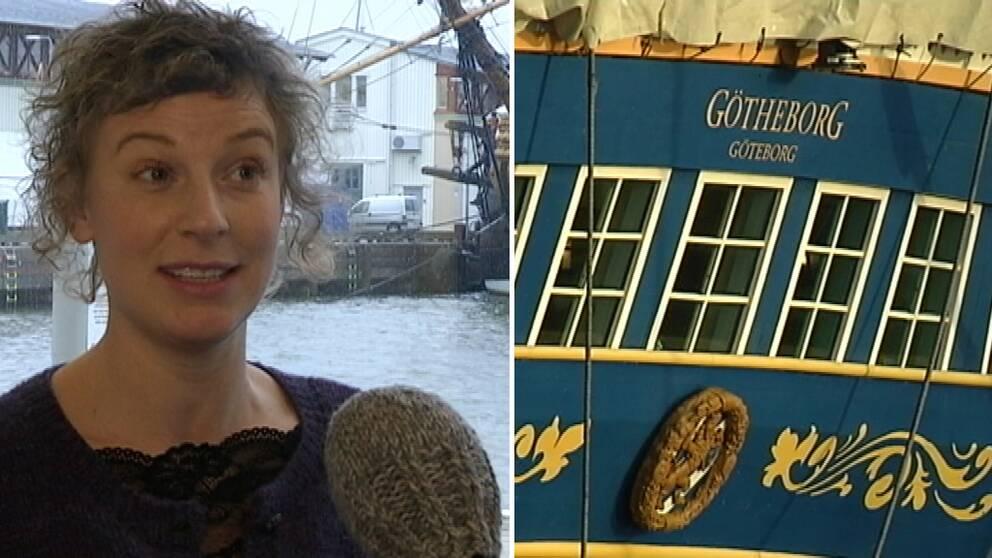 Sigrid Ringarp, tidigare anställd på Götheborg.
