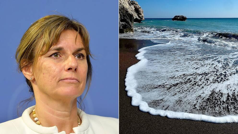 Miljöminister Isabella Lövin (MP) leder ett nytt globalt nätverk som ska arbeta för att skydda haven.
