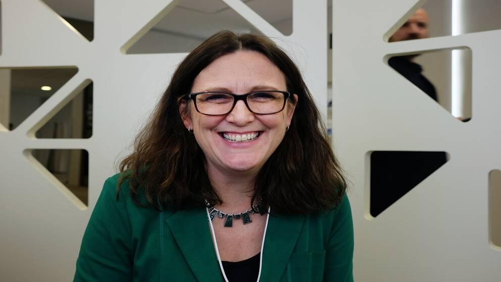 EU-kommissionären Cecilia Malmström