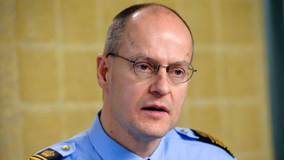 Mats Löfving, polischef för Region Stockholm (där Gotland också ingår).