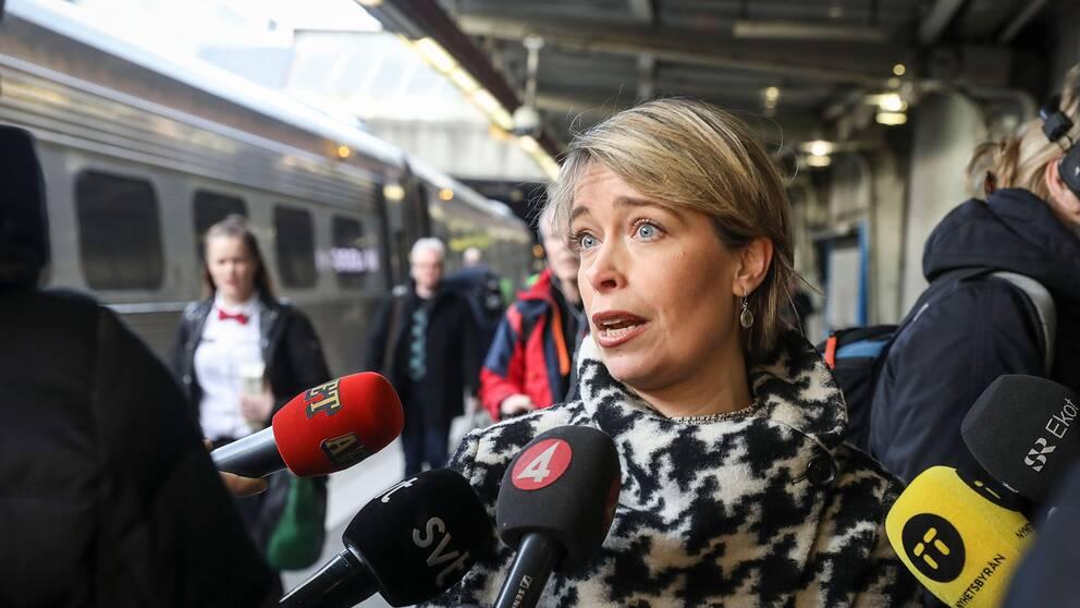 Socialminister Annika Strandhäll (S).