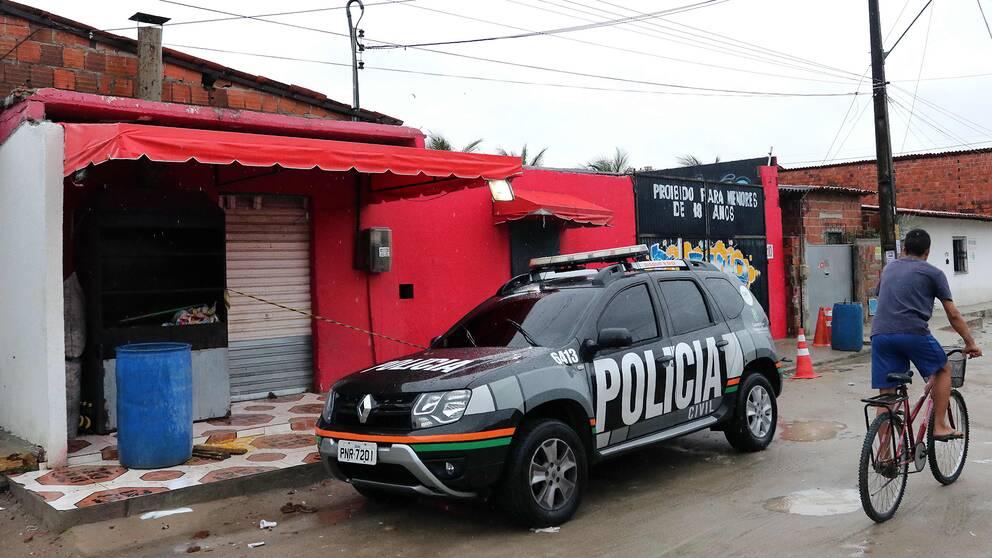 Nattklubben i Fortaleza där skjutningen ägde rum.