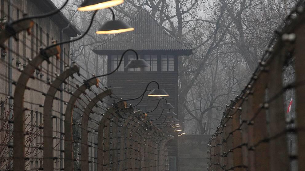 Koncentrations- och förintelslägret Auschwitz i sydöstra Polen var aktivt mellan 1940 och 1945. 1,1 miljoner människor dog i lägret.