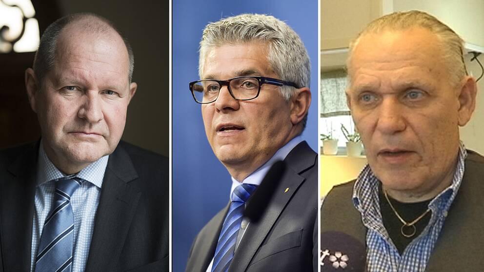 Dan Eliasson ersätts av Anders Thornberg, vilket Thomas Sjökvist gillar.