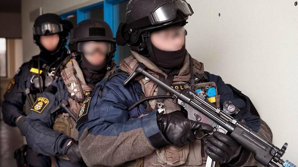 polisens insatsstyrka