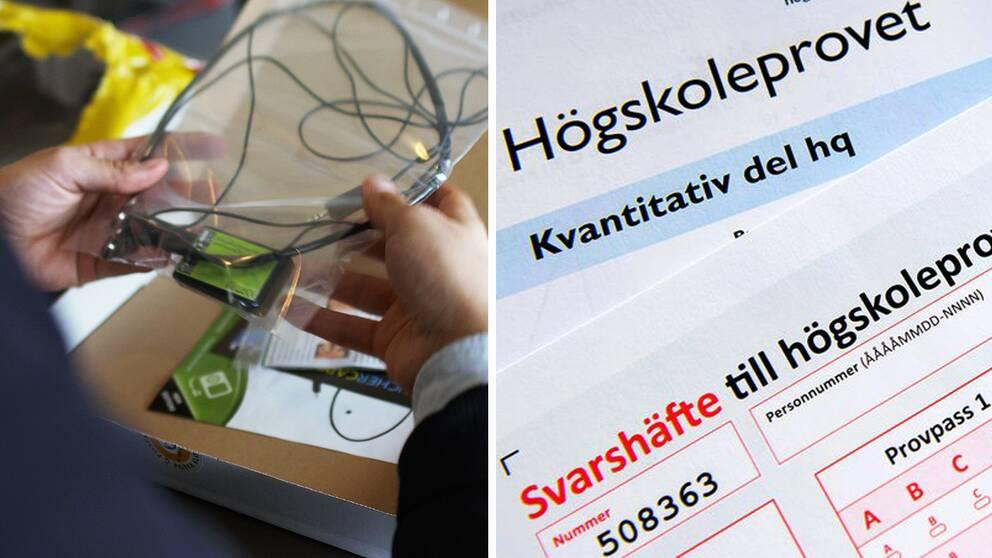 Saljer fusk pa hogskoleprovet for 99 000 kronor