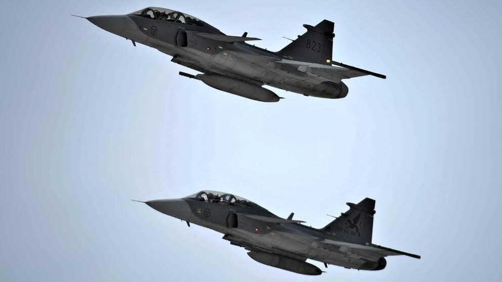 Stridsflyg och andra vapensystem används allt mindre.