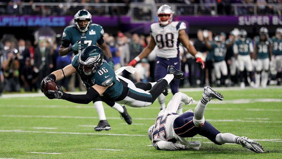 Philadelphia tog sin första Super Bowl-seger