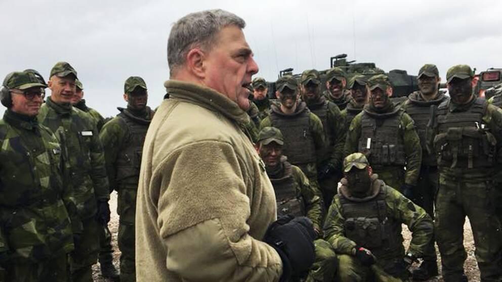 general Mark A. Milley gotland usa