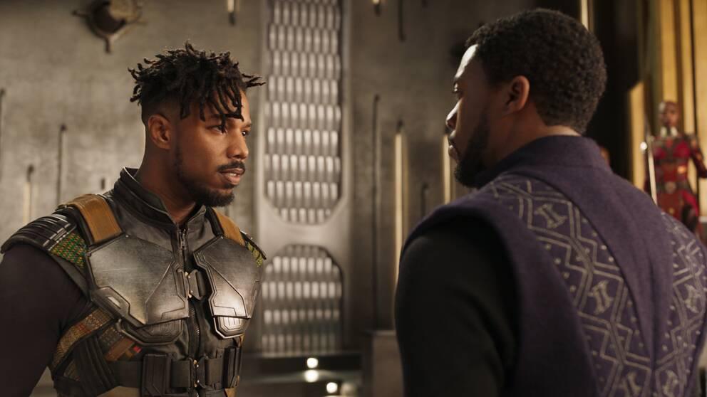 Michael B. Jordan och Chadwick Boseman är två av huvudrollsinnehavarna i den kommande storfilmen
