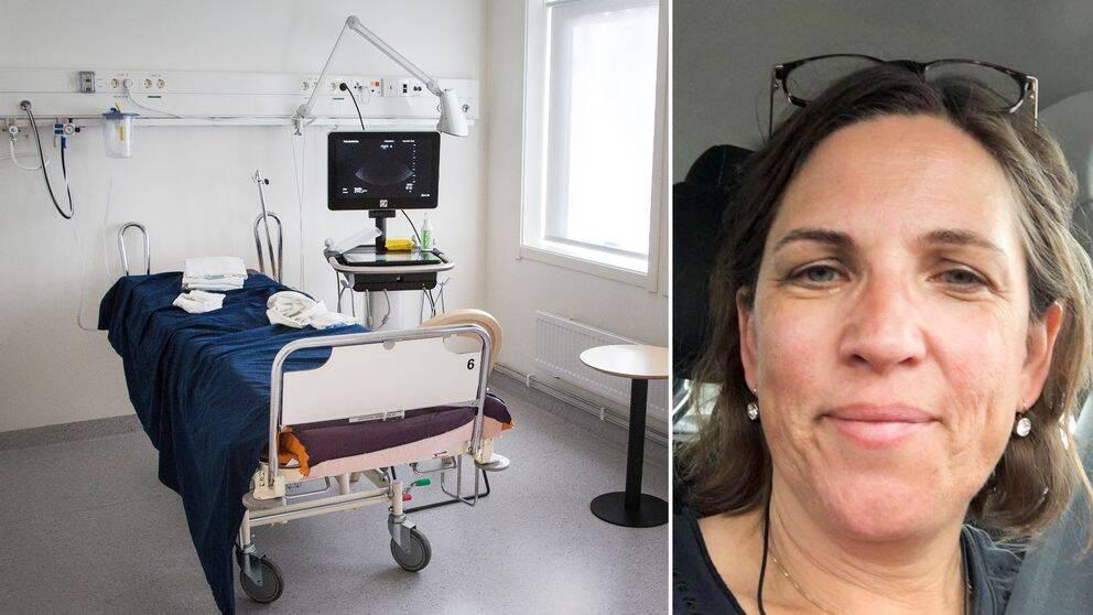 Charlotta Ingvoldstad Malmgren, genetisk vägledare vid Centrum för fostermedicin, Karolinska Universitetssjukhuset.