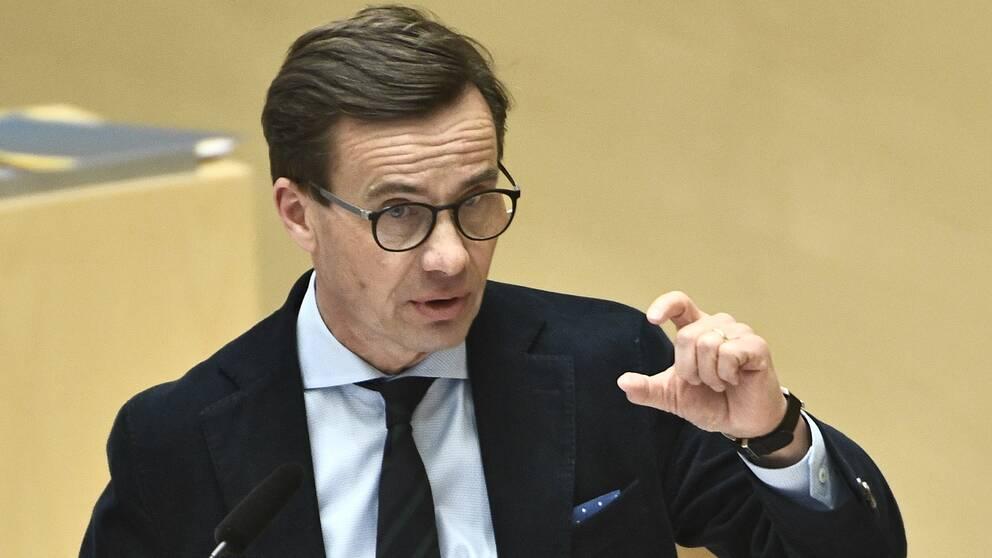 Moderaternas partiledare Ulf Kristersson (M)