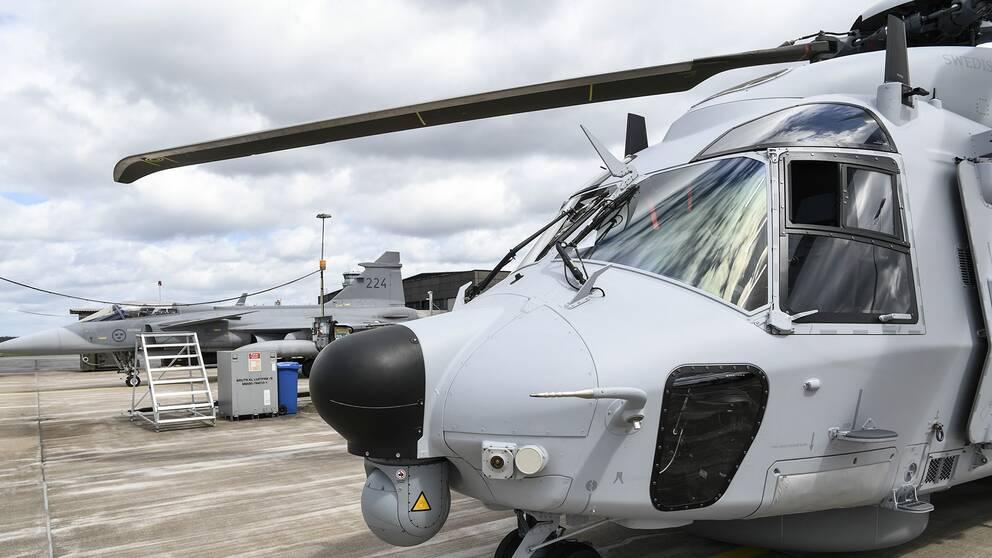 Helikopter 14 är försvarsmaktens nya medeltunga helikopter.