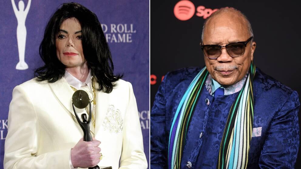 Quincy Jones anklagar Michael Jackson för att ha plagierat låtar