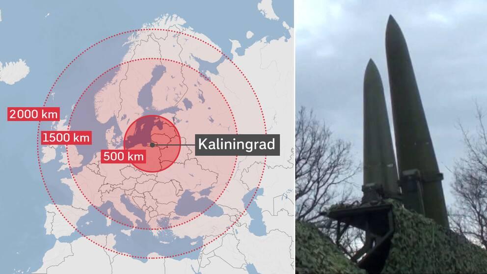 Här visar Ryssland upp sina Iskandermissiler