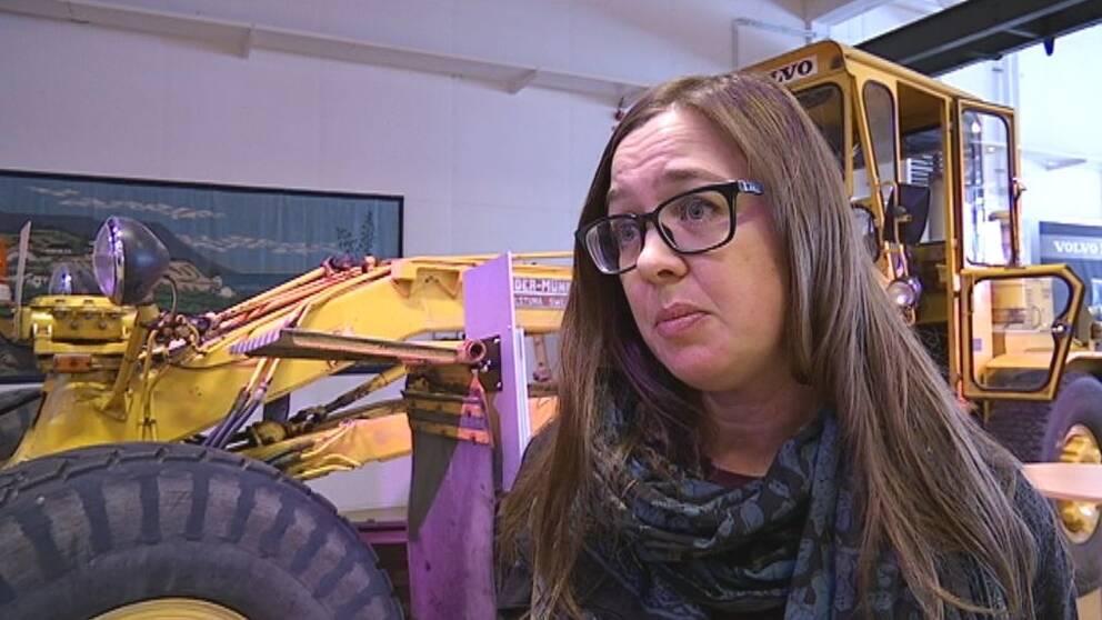 Anna Furumark, projektledare på Arbetarrörelsens arkiv och bibliotek.