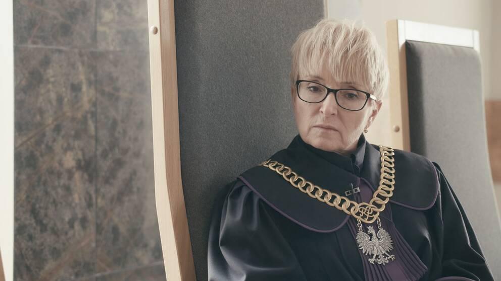Beata Morawiec är hovrättsdomare i Krakow som nyligen fått sparken av justitieministern utan motivering.