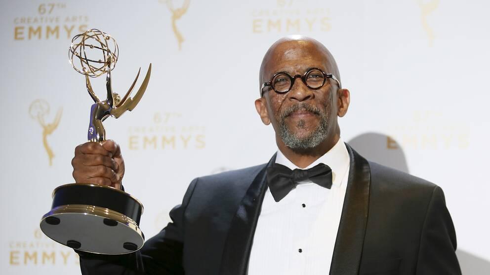 Skådespelaren Reg E Cathey vann en Emmy 2015 för sina insatser i tv-serien House of cards.