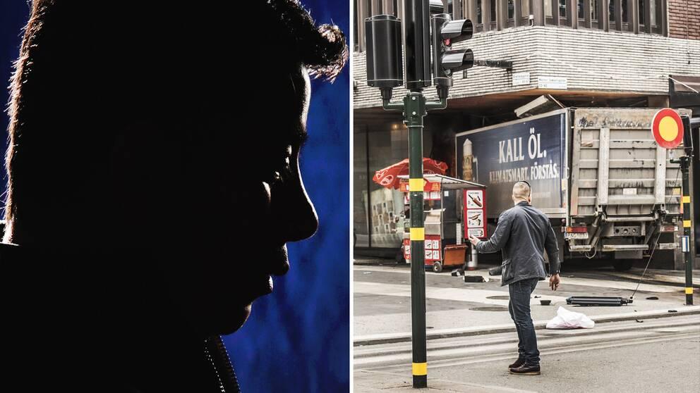Manuel berättar nu för SVT Nyheter om vad han minns av terrordådet på Drottninggatan i Stockholm
