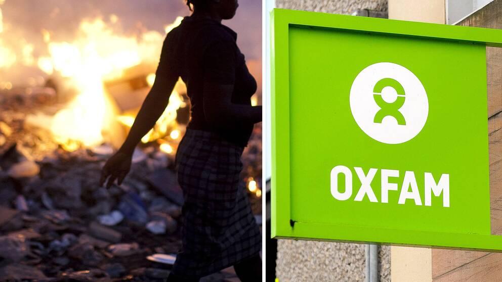 Medarbetare på Storbritanniens största hjälporganisation Oxfam anklagas för sexköp.