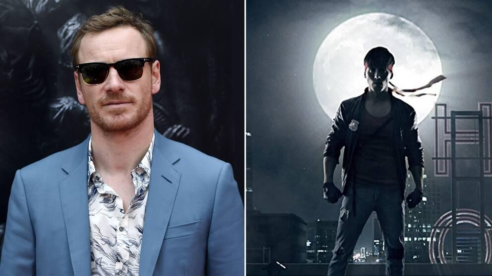 Michael Fassbender kommer medverka i långfilmsversionen av den svenska actionkomedin Kung Fury.