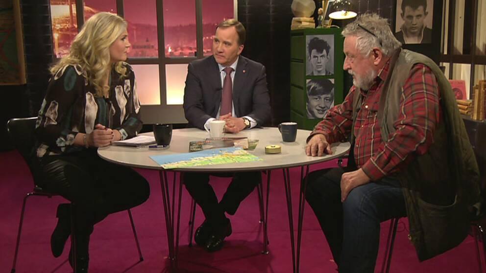 Statsminister Stefan Löfven i Veckans brott