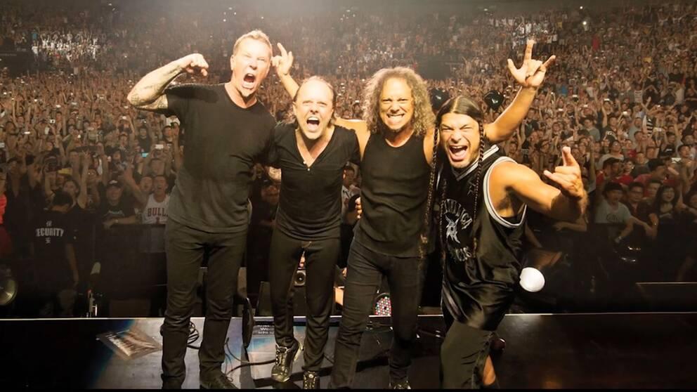 Metallica är ett av världens största hårdrocksband genom tiderna.