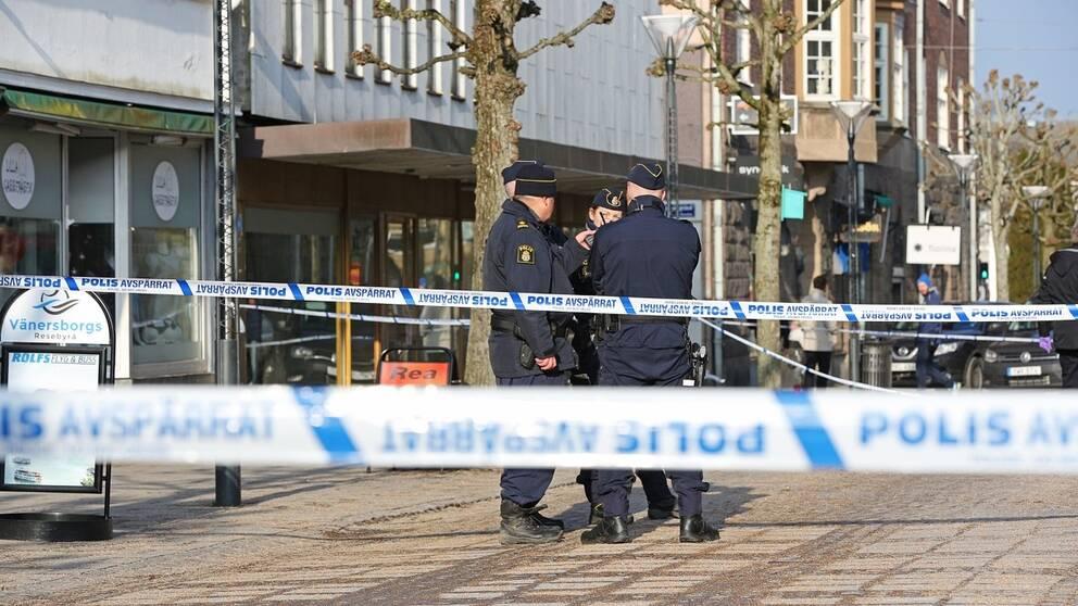 Väpnat rån mot guldsmed i Vänersborg