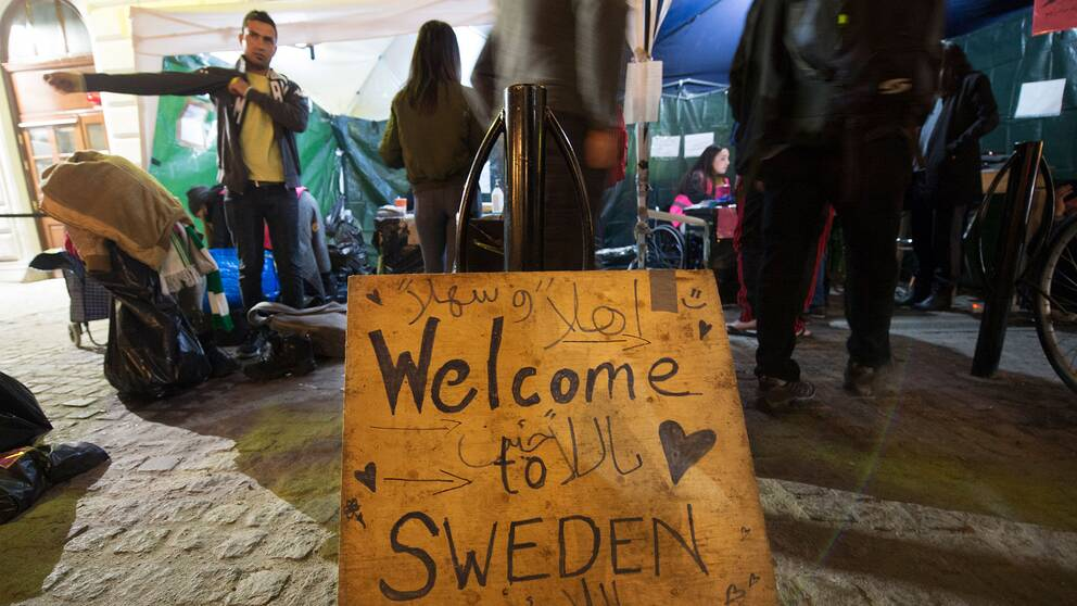 Flyktingmottagande i Stockholm under 2015