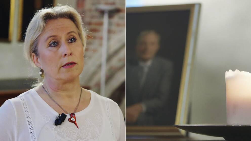 Inger Händestams pappa Tore tog sitt liv för tolv år sedan.