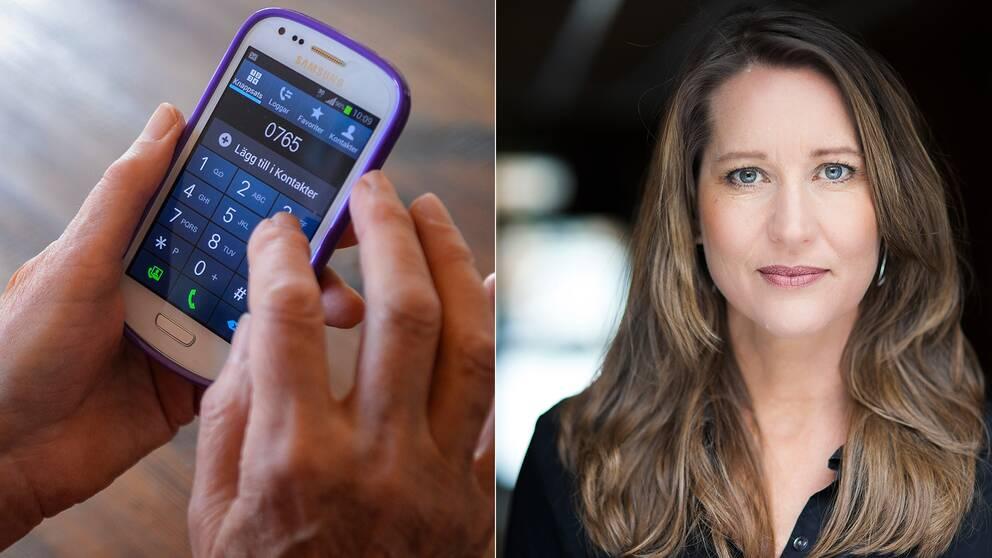 Mobiltelefon, Karin Schulz generalsekreterare Mind