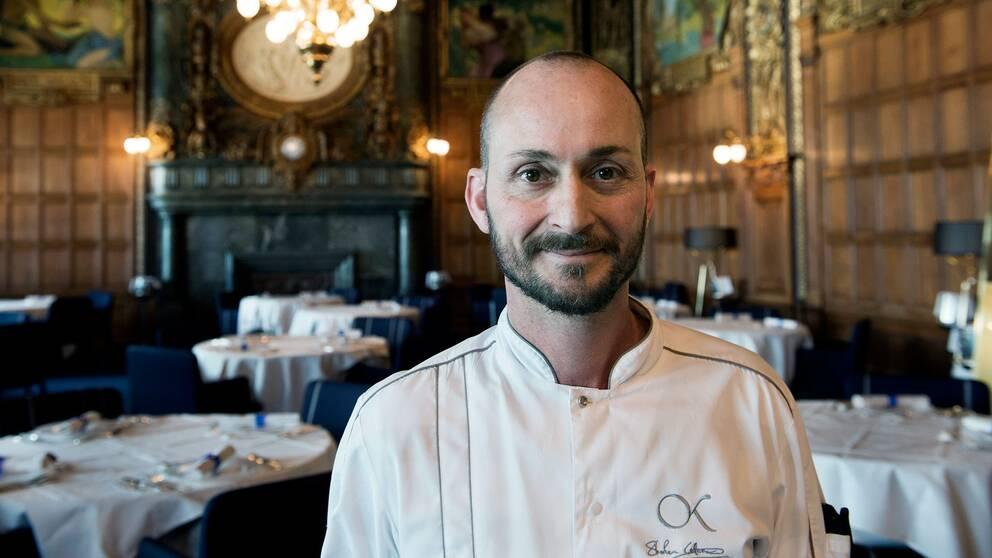 Kocken Stefano Catenacci på Operakällaren.
