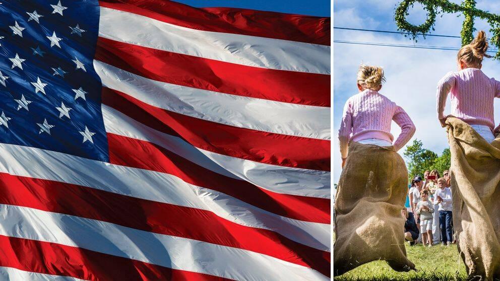Sverige har blivit en symbol och ett slagträ i den inrikespolitiska debatten i USA både bland vänster- och högersympatisörer.