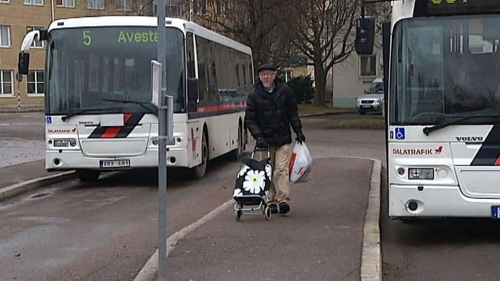 Det kollektiva resandet ökade med 300 procent i Avesta när bussåkandet blev gratis