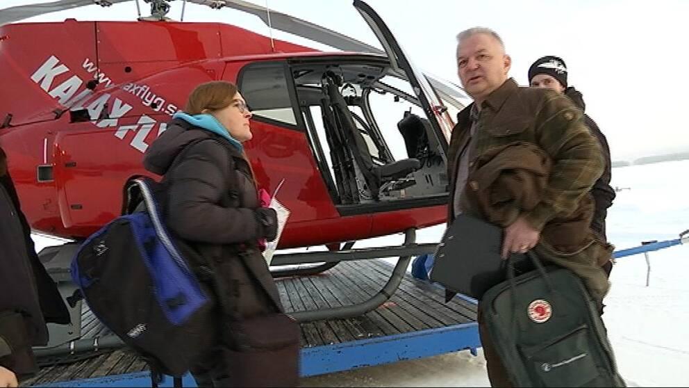 Birgitta Isaksson och Hans Geibrink, Svenska jägareförbundet
