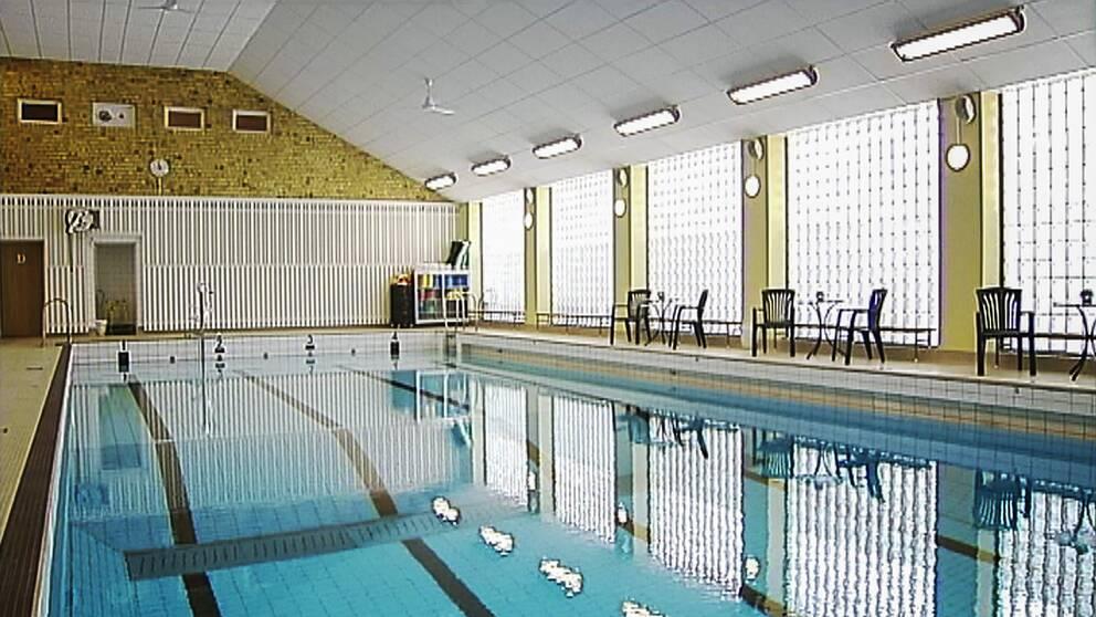 Badhuset i centrala Hudiksvall.