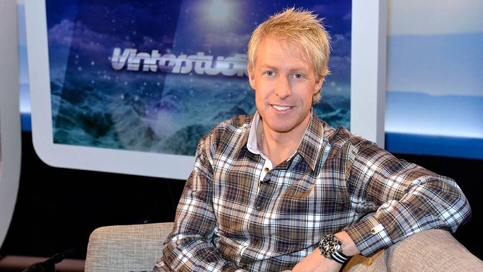 André Pops i Vinterstudion.