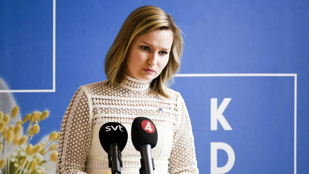 Ebba Busch Thor, partiledare för Kristdemokraterna