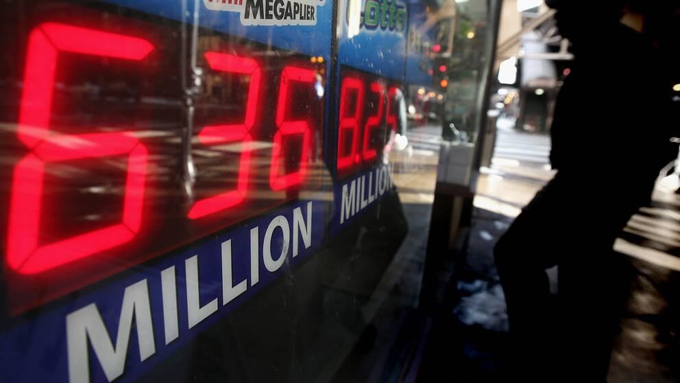 Budbilsförare vann två miljarder