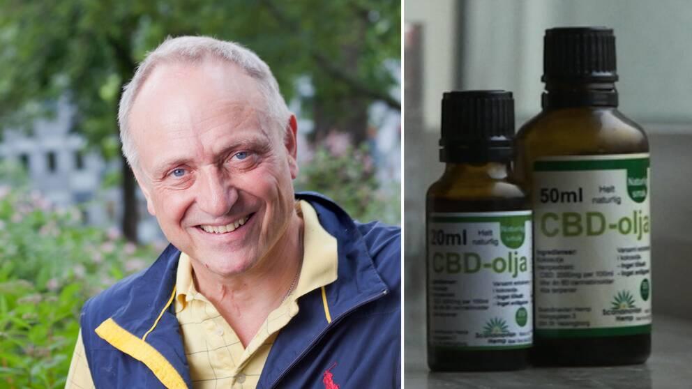 Narkosläkaren Claes Hultling och cannabisolja.