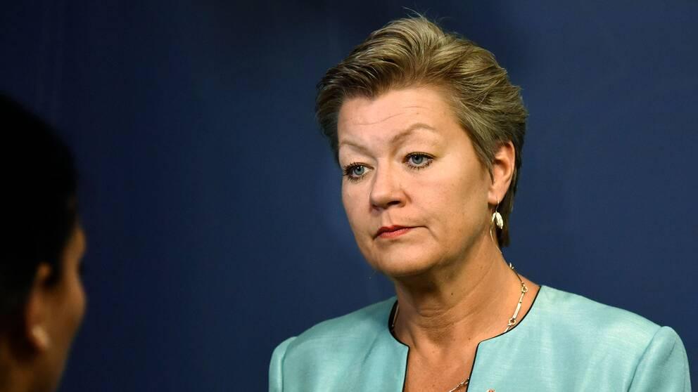 Arbetsmarknads- och etableringsminister Ylva Johansson (S).