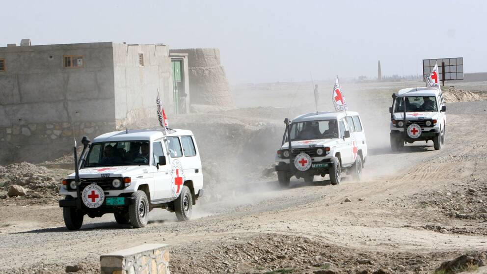 Arkivbild: Internationella Röda korset på plats i Afghanistan.