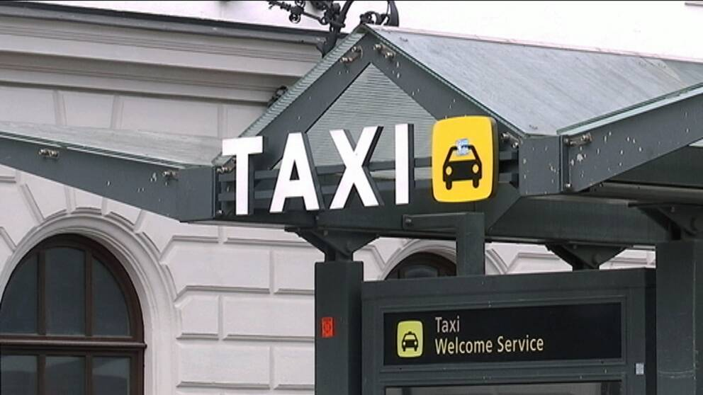 Taxiremoten vid Centralstationen