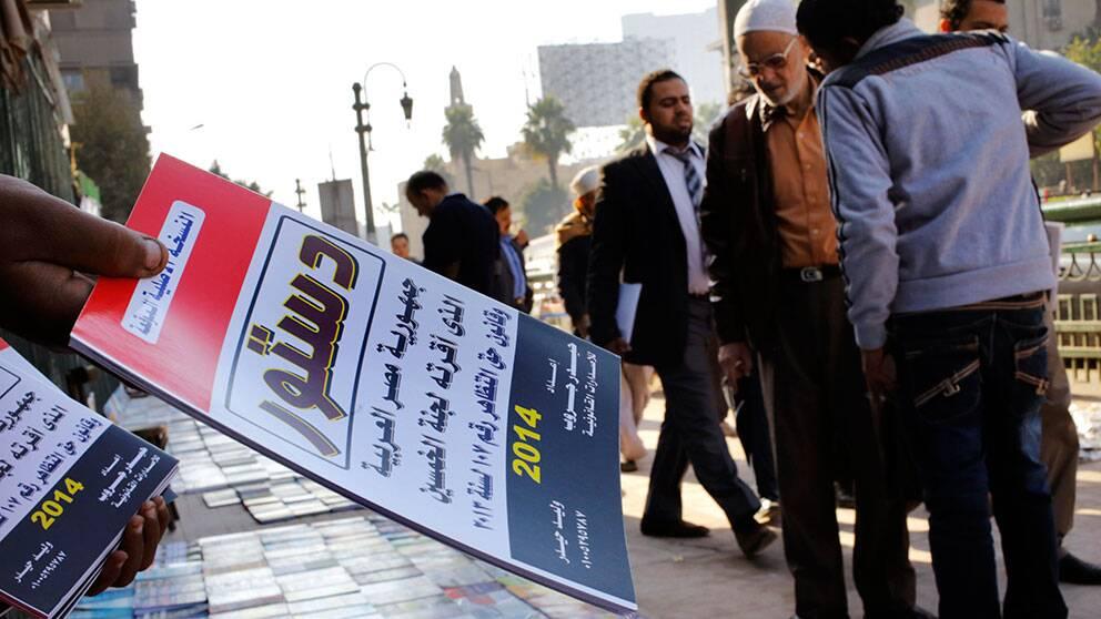 Egypten rostar om ny grundlag