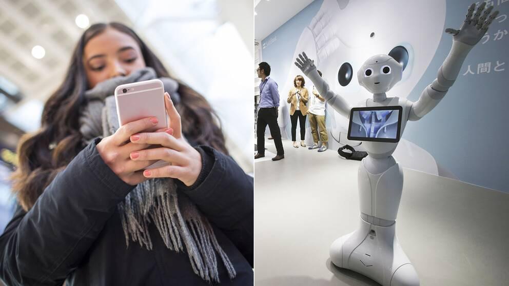 Artificiell intelligens förknippas med robotar – men framtidens AI har mer med mobilen att göra.