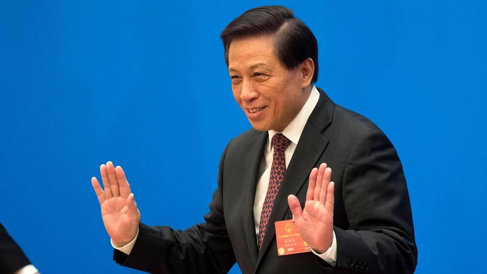 Zhang Yesui, talesperson för den kinesiska kongressen