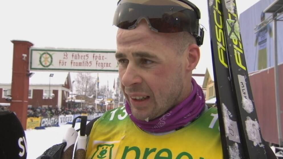 Bob Impola efter Vasaloppet 2018