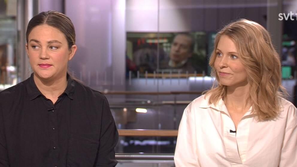Elin Andersson och Emmy Lilliehorn, samordnare för 65 svenska Metoo-upprop.