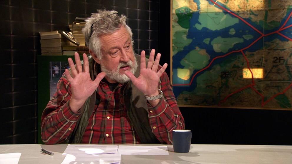 Kriminologiprofessor Leif GW Persson.