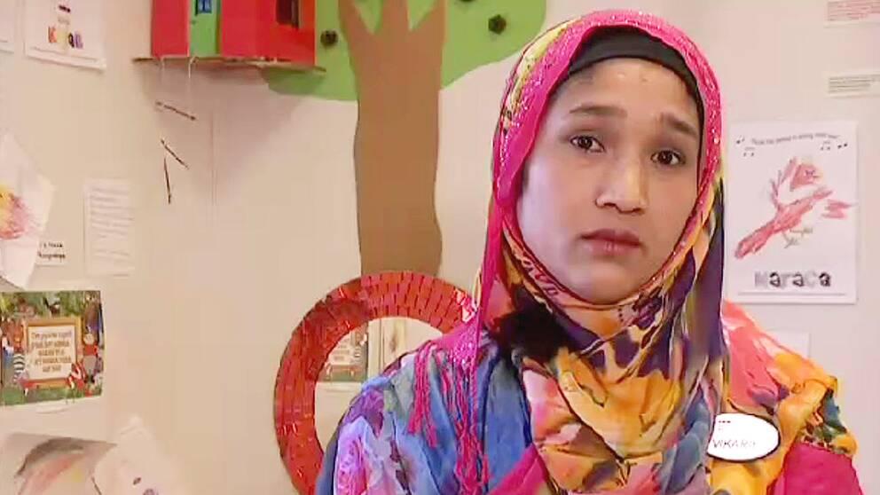 Fahamida Akhter kom till Sverige från Bangladesh för fem år sedan